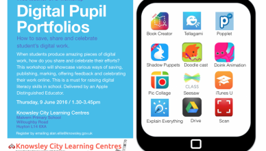 iPads and Pupil Portfolios